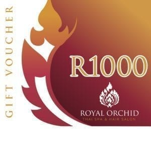 Spa Gift Voucher - R1000 - Royal Orchid Thai Spa