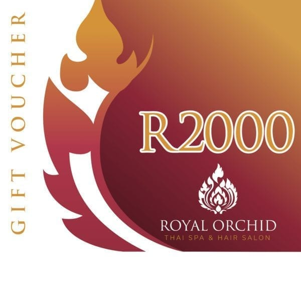 Spa Gift Voucher - R2000 - Royal Orchid Thai Spa
