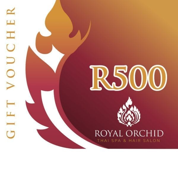 Spa Gift Voucher - R500 - Royal Orchid Thai Spa