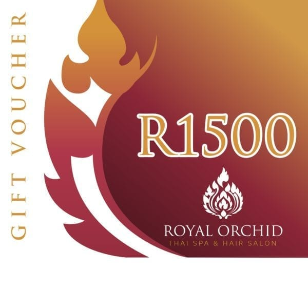 Spa Gift Voucher - R1500 - Royal Orchid Thai Spa