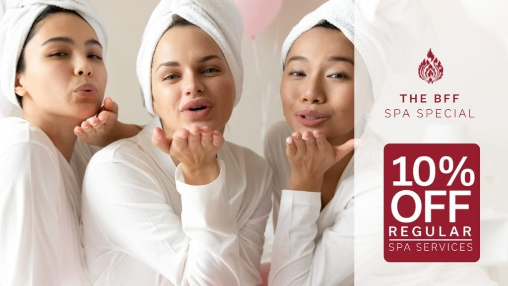 BFF Spa Special at Royal Orchid Thai Spa Randburg